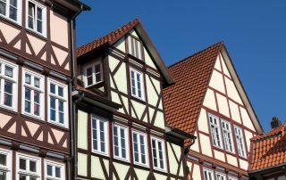 Häuserfront   Immobilienmanagement